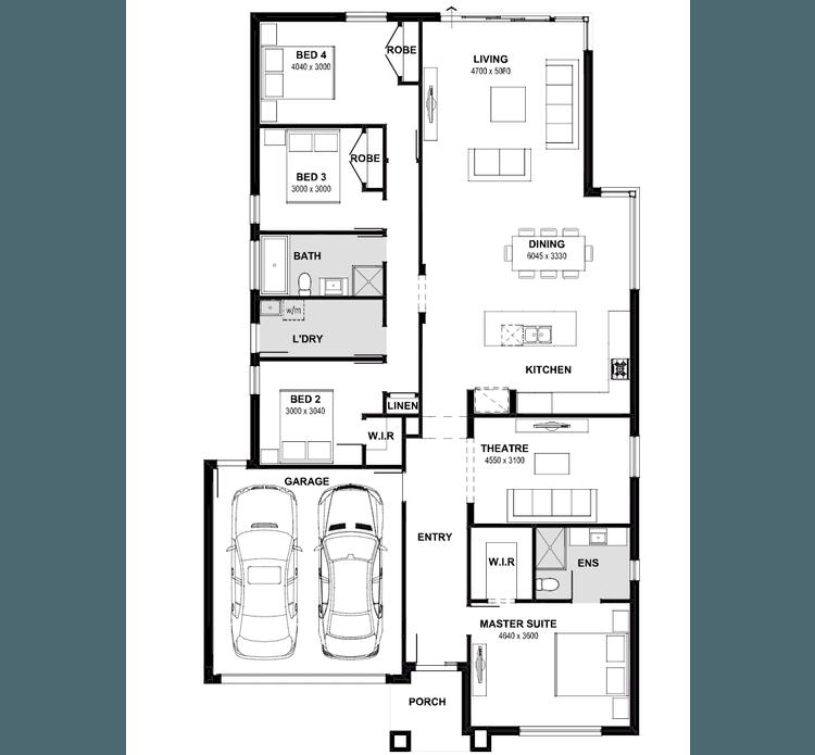 Marlo 25 Floor Plan