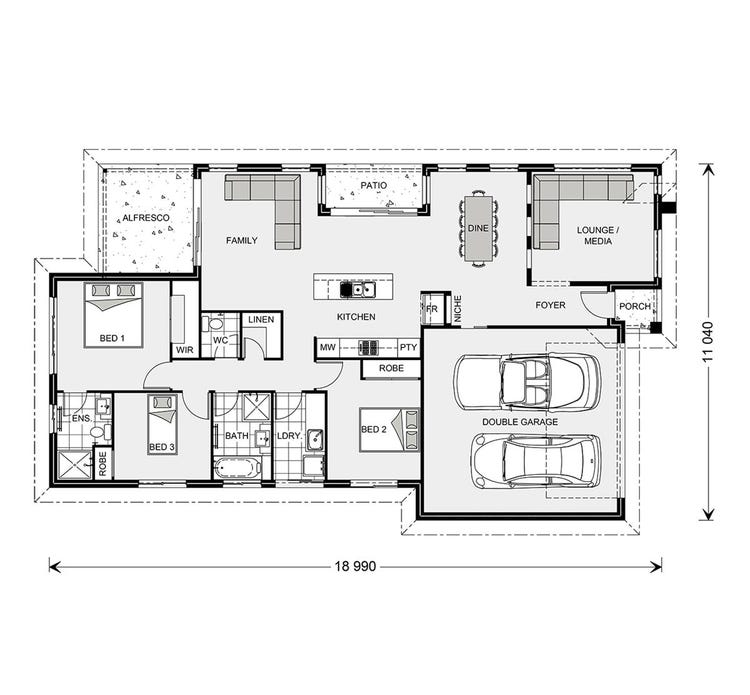 Oceanside Floor Plan