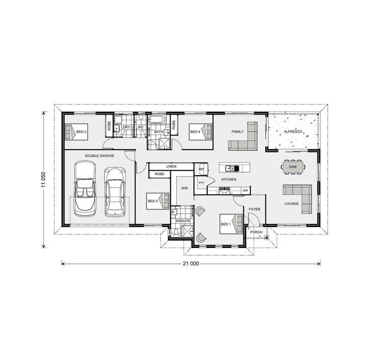 Rothbury Floor Plan
