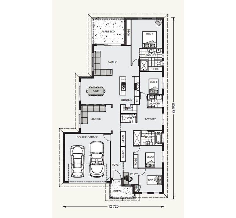 Bridgewater Floor Plan