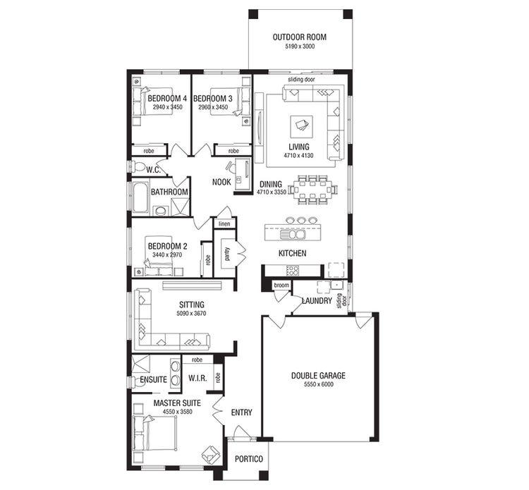 Orlando Floor Plan