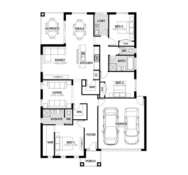 Carson Floor Plan