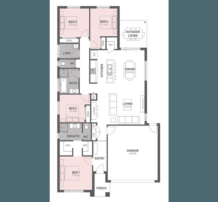 Regent 22 Floor Plan