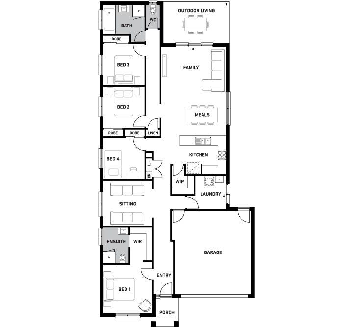 Balwyn 220 Floor Plan