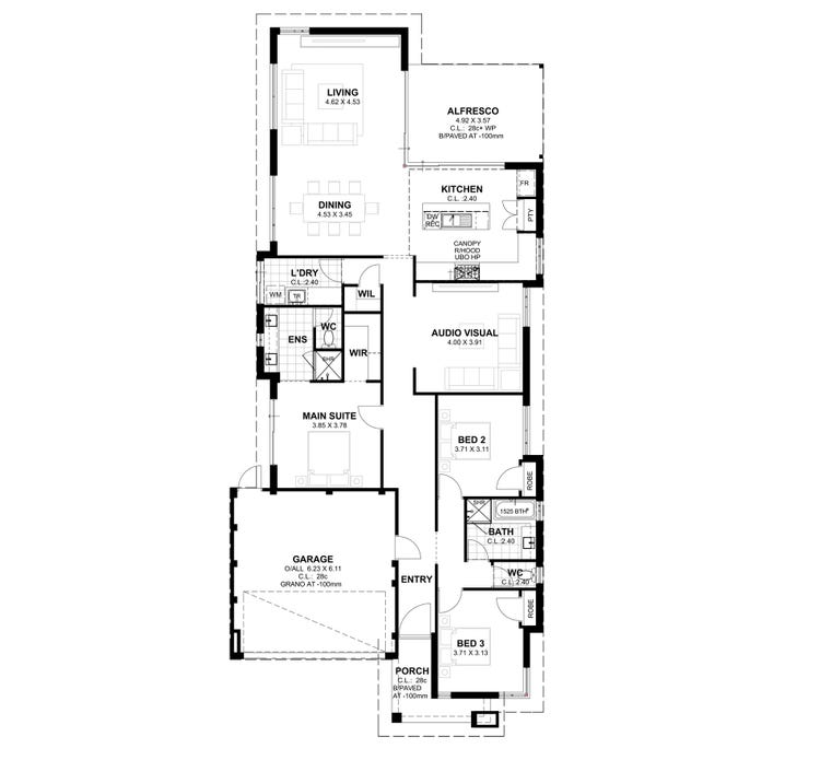 Greenlea S1 Floor Plan