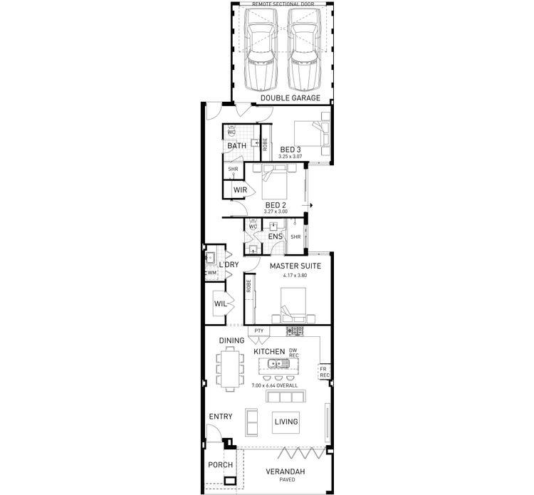 Design & House Plan by Plunkett Homes