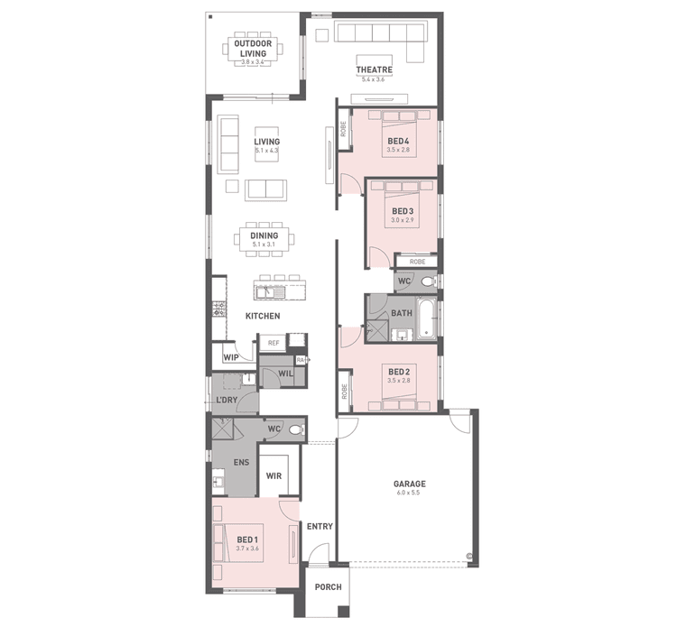 Monarch 26 Floor Plan