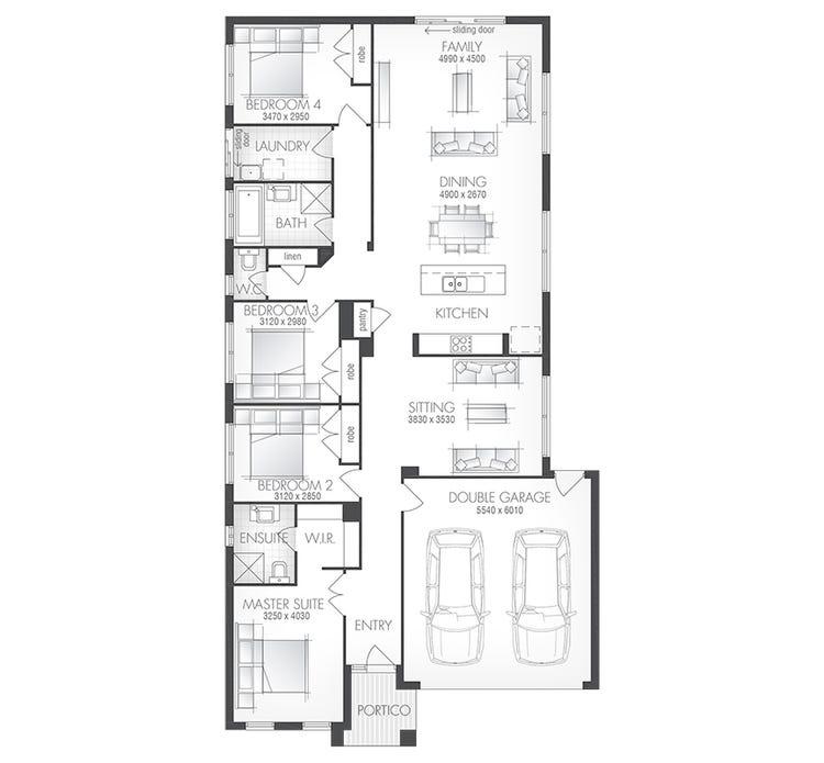 Delta Floor Plan