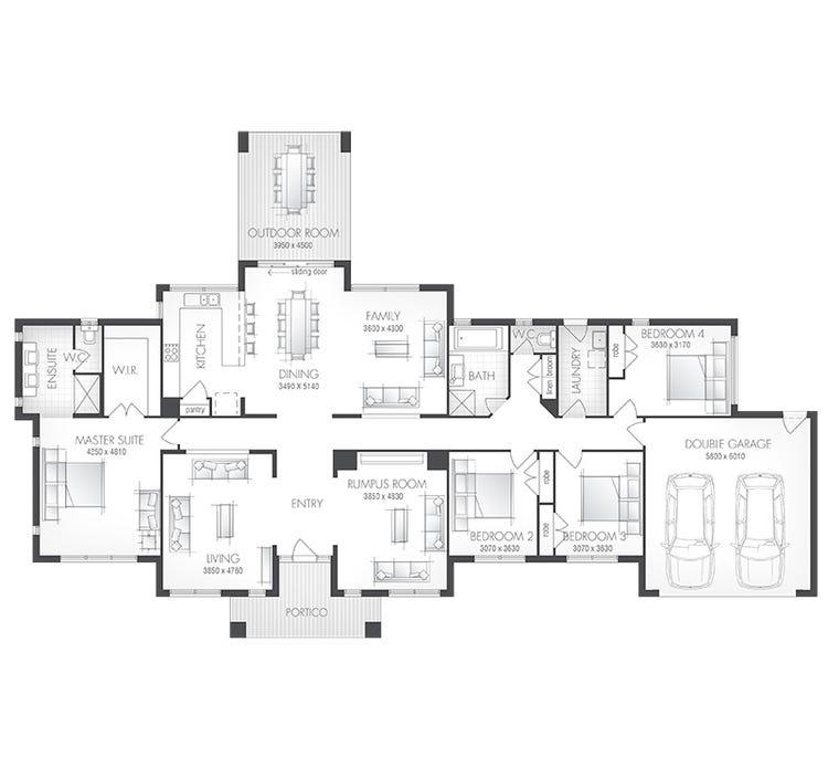 Denver Home Design & House Plan By Metricon Homes QLD Pty Ltd