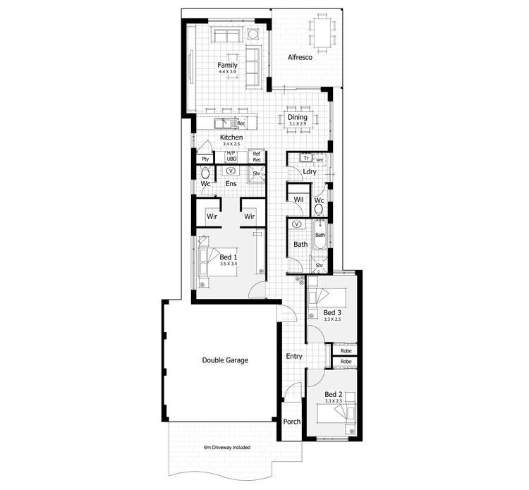 Devonport Floor Plan