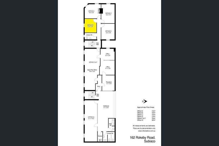 Office B, 162 Rokeby Rd Subiaco WA 6008 - Image 2