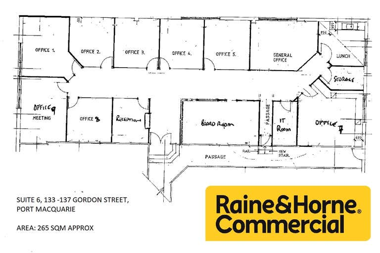 (L) S6, Lvl 1, 133-137 Gordon Street, Oxley House Port Macquarie NSW 2444 - Image 2