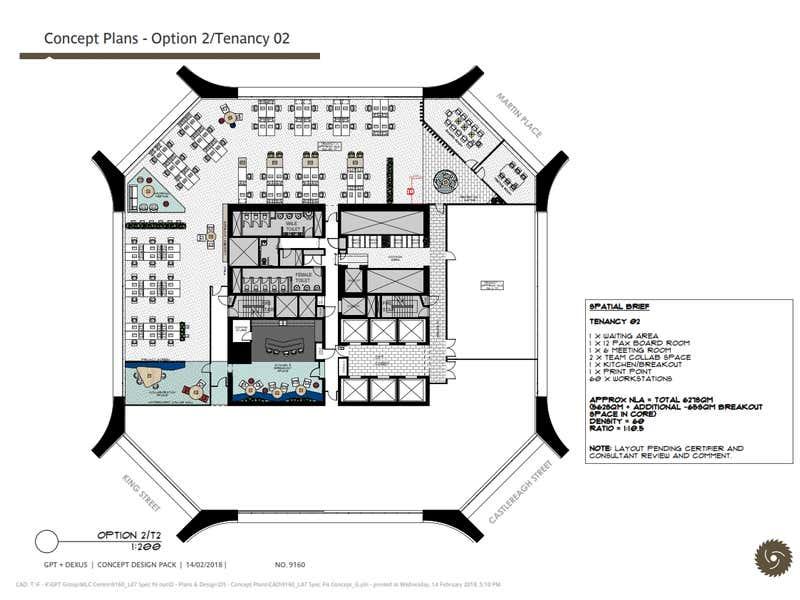 MLC Centre, 19 Martin Place Sydney NSW 2000 - Floor Plan 1