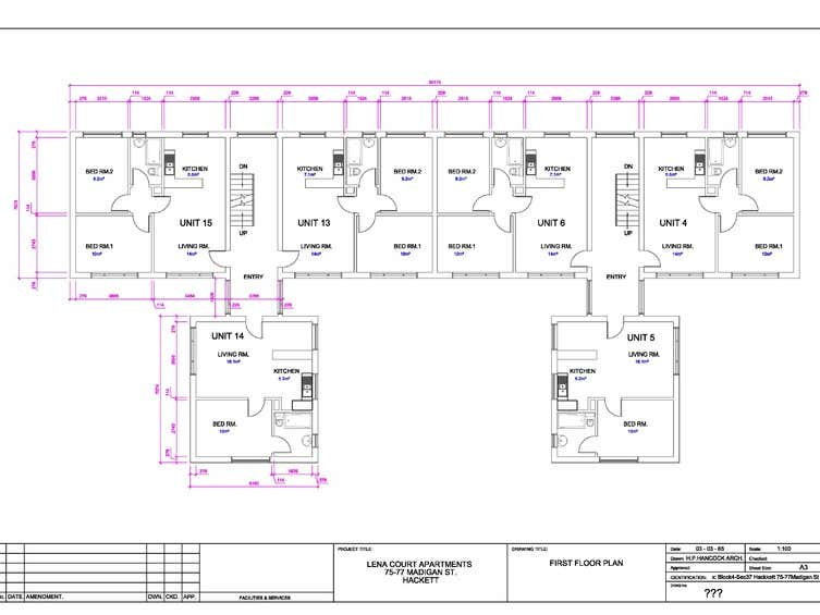 75-77 Madigan Street Hackett ACT 2602 - Floor Plan 2