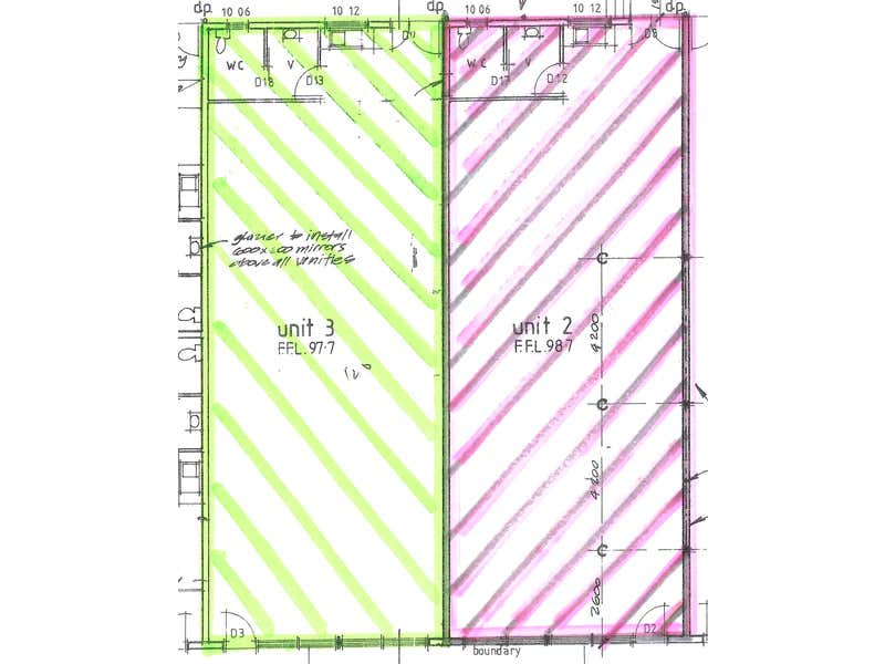 Unit 3 & 4/4 Seventh Street Murray Bridge SA 5253 - Floor Plan 1