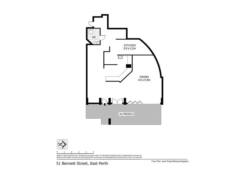 51 Bennett Street East Perth WA 6004 - Floor Plan 1