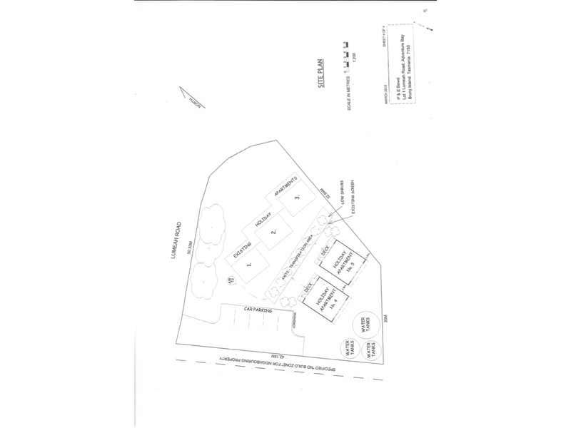 1 Lumeah Road Adventure Bay TAS 7150 - Floor Plan 1