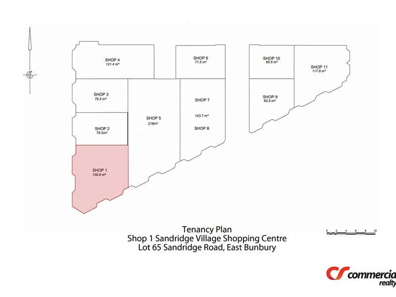 Shop 1, Lot 65 Sandridge Road East Bunbury WA 6230 - Floor Plan 1