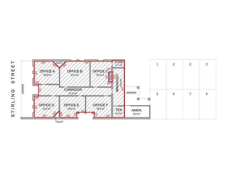 256 Stirling Street Perth WA 6000 - Floor Plan 1