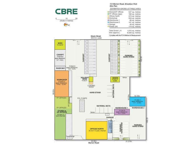 108-120 Marion Road Brooklyn Park SA 5032 - Floor Plan 1