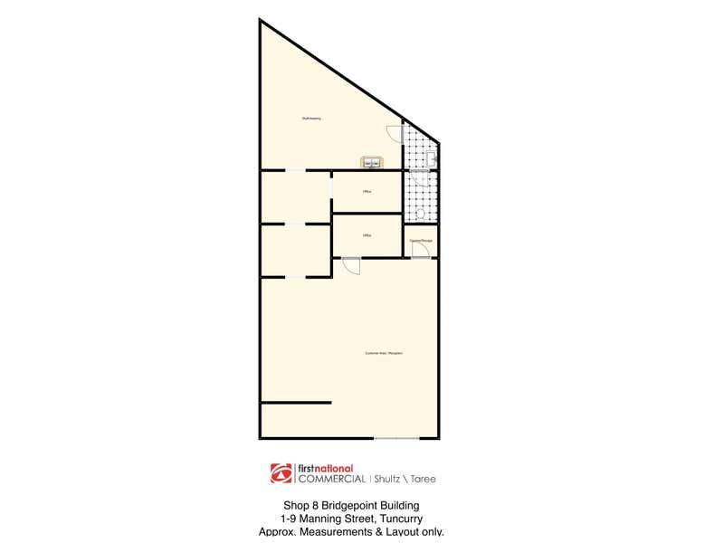 Bridgepoint Building, Shop 8/1-9 Manning Street Tuncurry NSW 2428 - Floor Plan 1