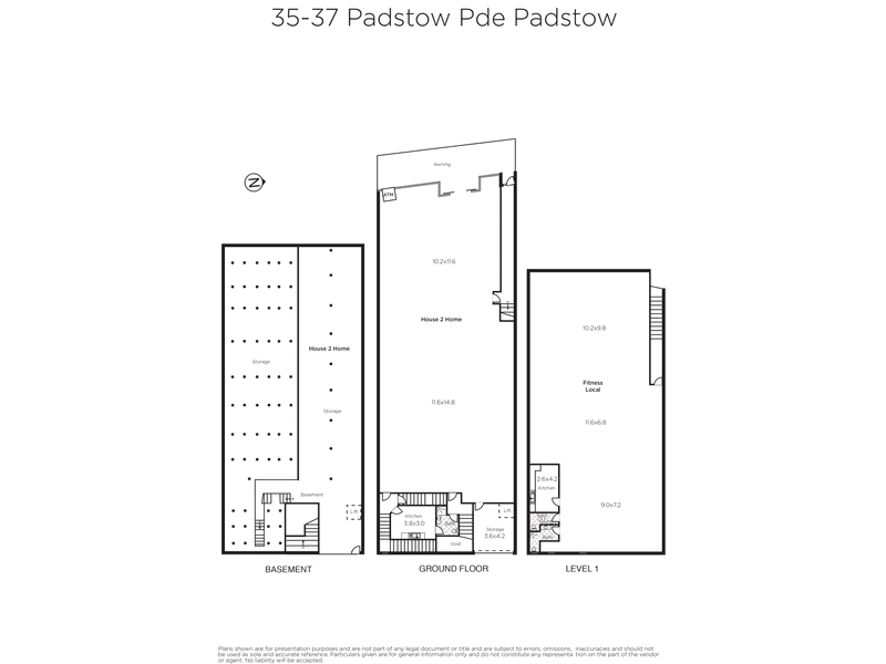Ground & Level 1, 35-37 Padstow Parade, Padstow NSW 2211 - Floor Plan 1