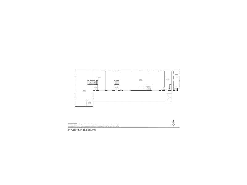 14 Casey Street East Arm NT 0822 - Floor Plan 1