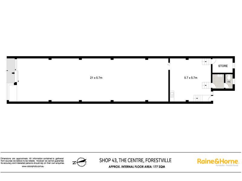 43 The Centre Forestville NSW 2087 - Floor Plan 1