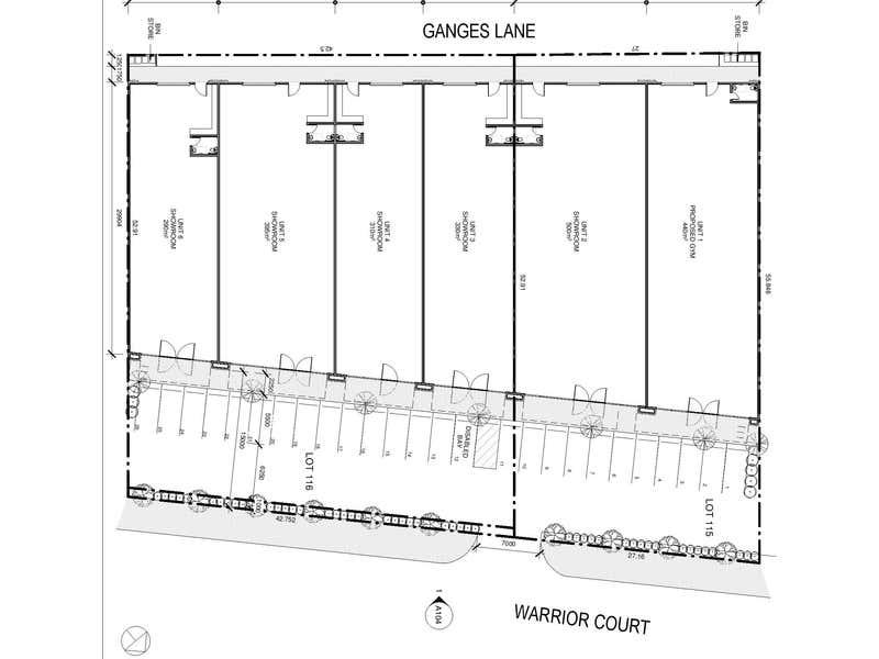 Vasse Showrooms, LOT 115-116 Warrior Court Vasse WA 6280 - Floor Plan 1