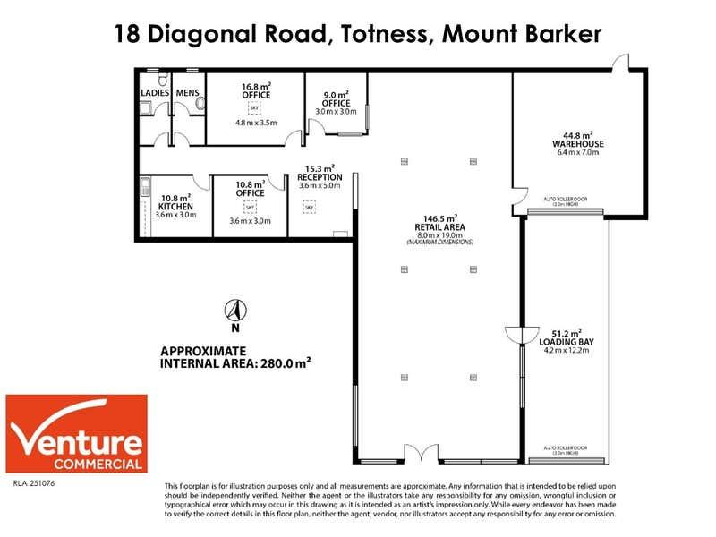 20 Diagonal Road, Totness Mount Barker SA 5251 - Floor Plan 1
