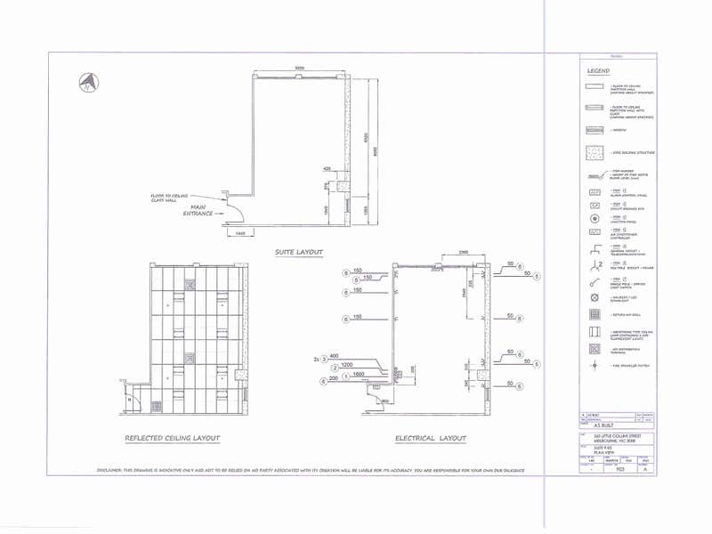 92/365 Little Collins Street Melbourne VIC 3000 - Floor Plan 1