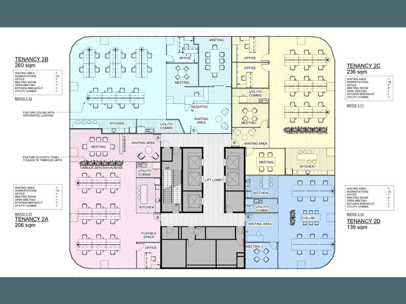 201 Charlotte Street Brisbane City QLD 4000 - Floor Plan 1