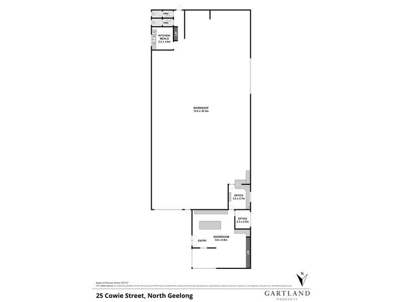 25 Cowie Street North Geelong VIC 3215 - Floor Plan 1