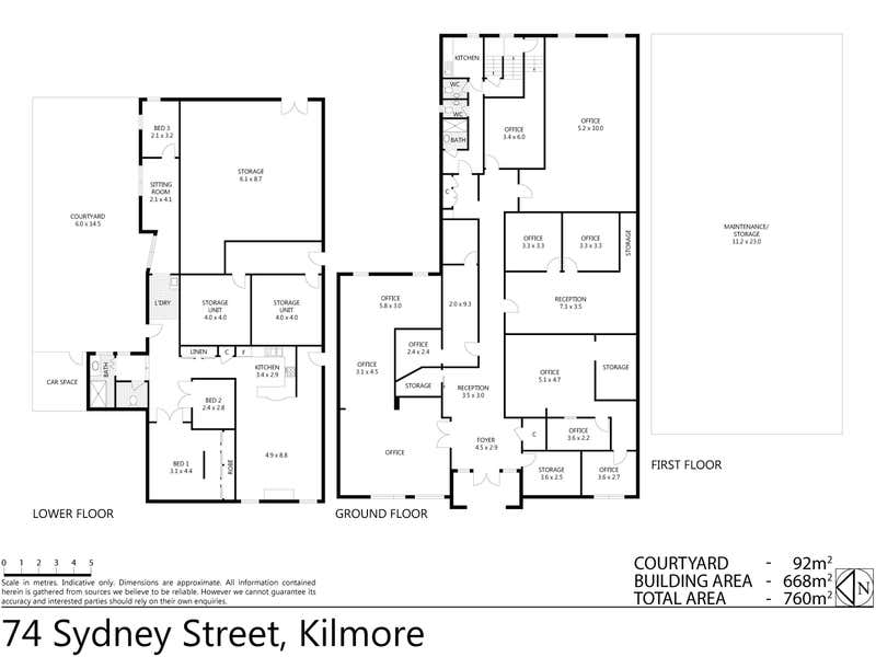 74 Sydney Street Kilmore VIC 3764 - Floor Plan 1