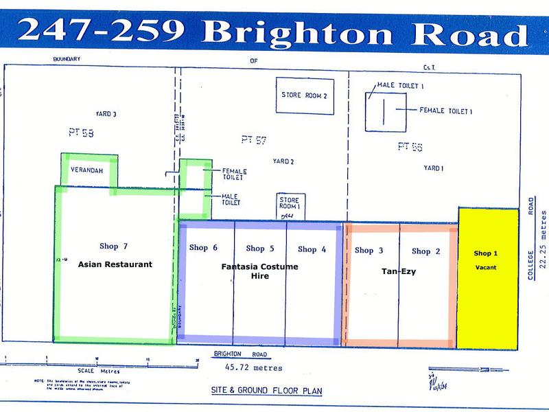 247 Brighton Road Somerton Park SA 5044 - Floor Plan 1