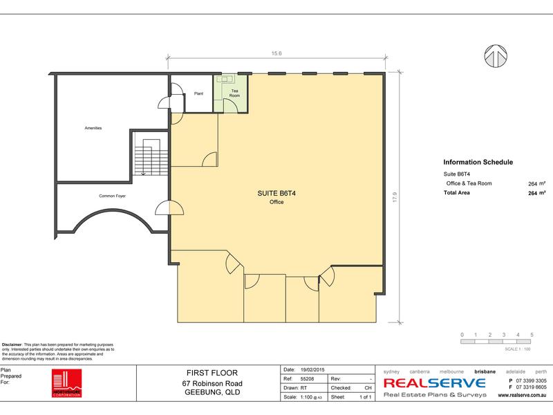 Robinson Rd Business Centre, Level 2, 67  Robinson Road Geebung QLD 4034 - Floor Plan 1
