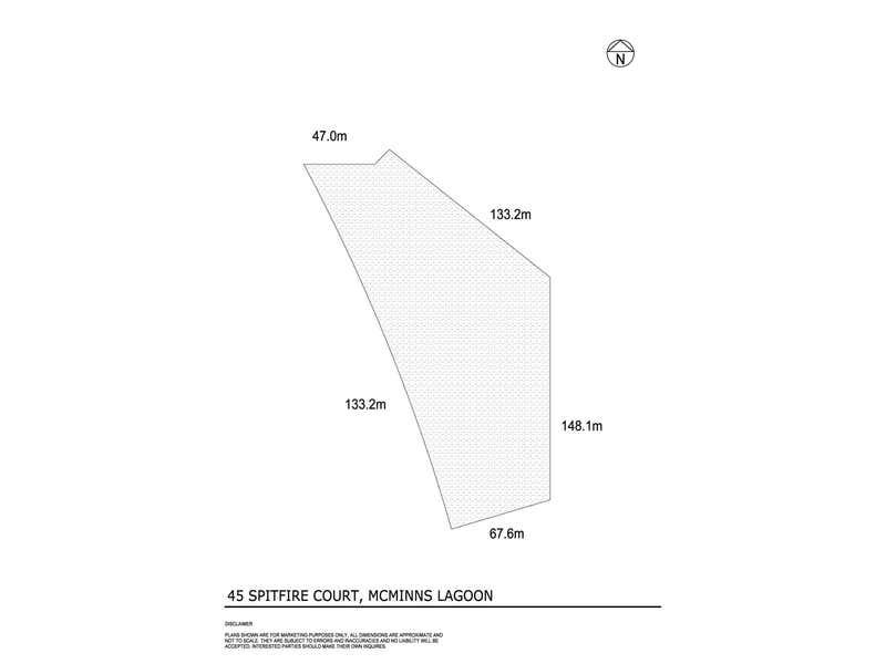 45 Spitfire Court McMinns Lagoon NT 0822 - Floor Plan 1