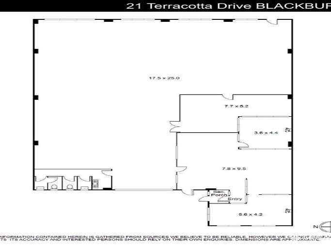 21 Terracotta Drive Blackburn VIC 3130 - Floor Plan 1