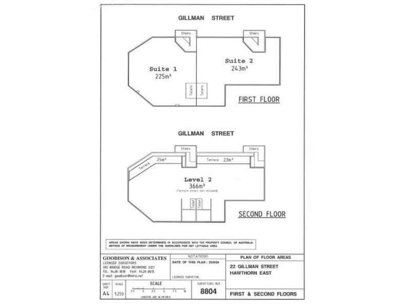 Suite 2, 22 Gillman Street Hawthorn East VIC 3123 - Floor Plan 1