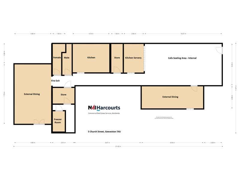 5 Church Street Geeveston TAS 7116 - Floor Plan 1
