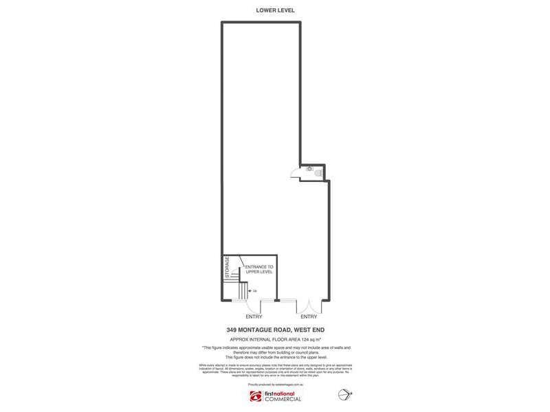 2b/349 Montague Road West End QLD 4101 - Floor Plan 1