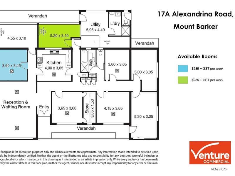 17A Alexandrina Road Mount Barker SA 5251 - Floor Plan 1