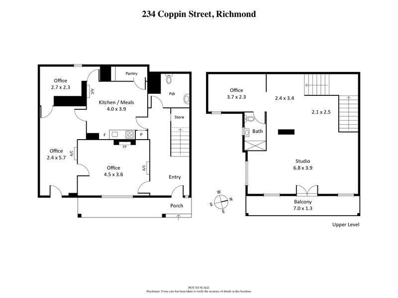 234 Coppin Street Richmond VIC 3121 - Floor Plan 1