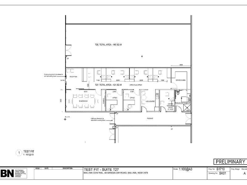 Shop 27/44 Bangalow Rd Ballina NSW 2478 - Floor Plan 1