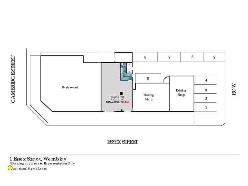 1 Essex Street Wembley WA 6014 - Floor Plan 1