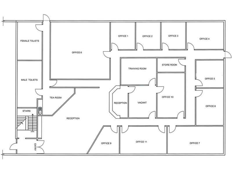 Alice Springs Business Centre, 2 - 4/8 Gregory Terrace Alice Springs NT 0870 - Floor Plan 1