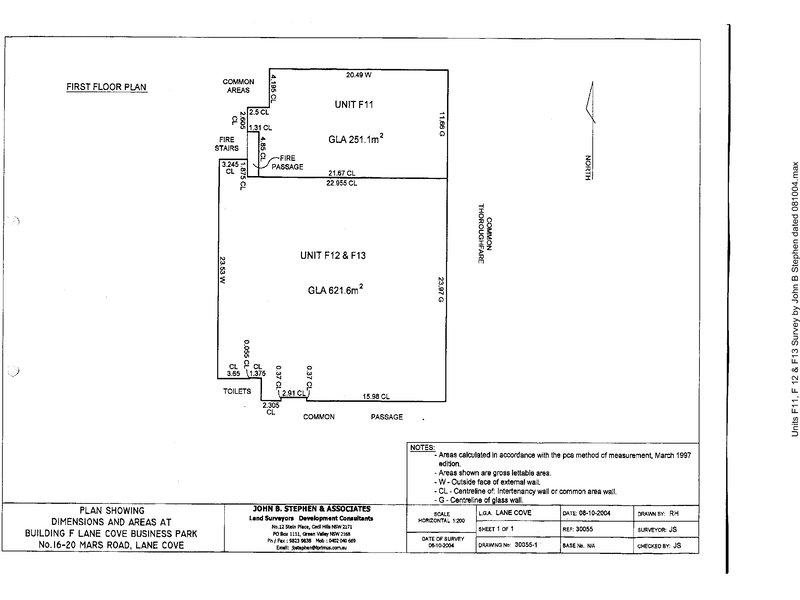 F11 16, Mars Road Lane Cove West NSW 2066 - Floor Plan 1