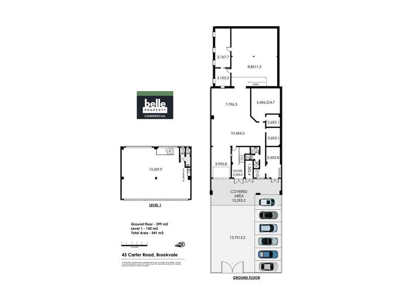 43 Carter Road Brookvale NSW 2100 - Floor Plan 1