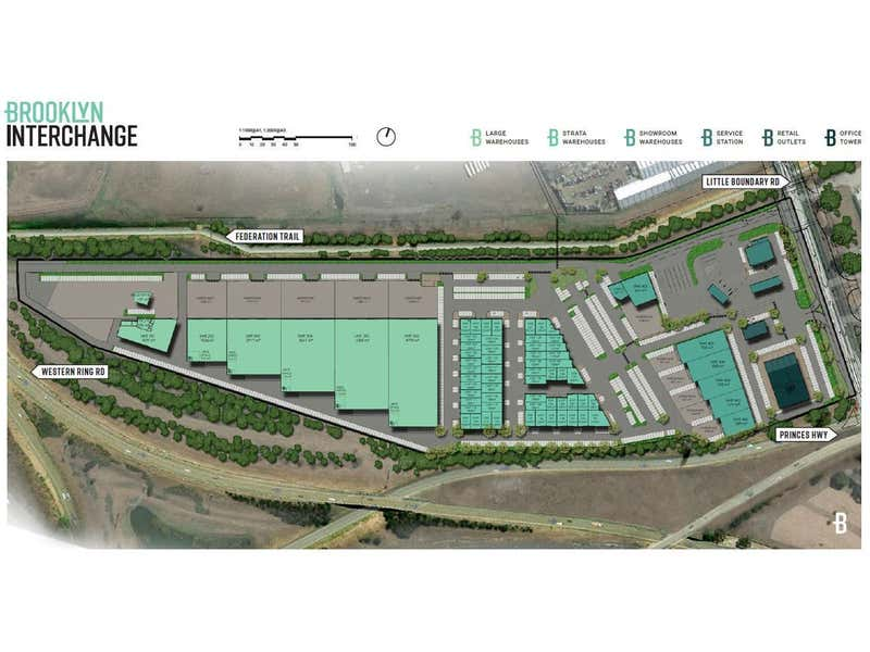 BROOKLYN INTERCHANGE, 1-11 Little Boundary Road Laverton North VIC 3026 - Floor Plan 1