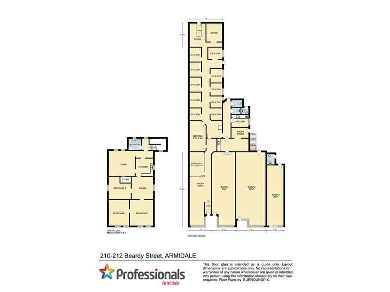 1/210 Beardy Street Armidale NSW 2350 - Floor Plan 1
